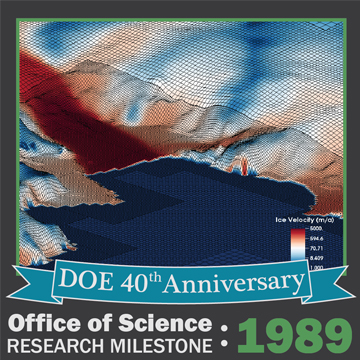 AMR software in 1989 efficiently simulated fluid flow details.