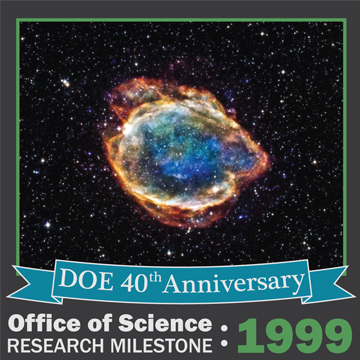 1999 HEP - Supernova Provide Evidence the Expansion of the Universe is Speeding Up