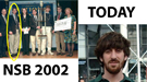 2002 National Science Bowl championship high school team pictured on the left and Steven Sivek profile picture on the right.