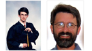 A past and present picture of 1992 National Science Bowl Champion Jason Tumlinson.