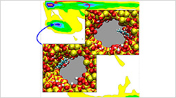 Thermodynamic Driving Forces for Dye Molecule Position and Orientation in Nanoconfined Solvents.