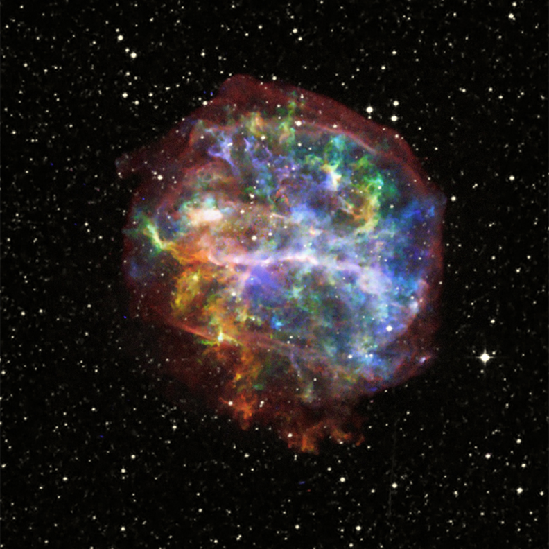 Rendering of a Supernova