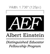 AEF Logo Minimum Size Vertical
