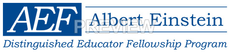 Blue AEF Logo Horizontal